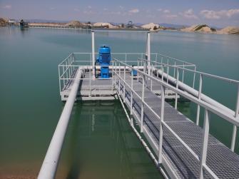 Agromačaj - Plávajúca čerpacia stanica